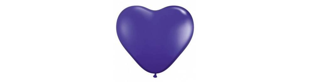 Baloni v obliki src 38 cm