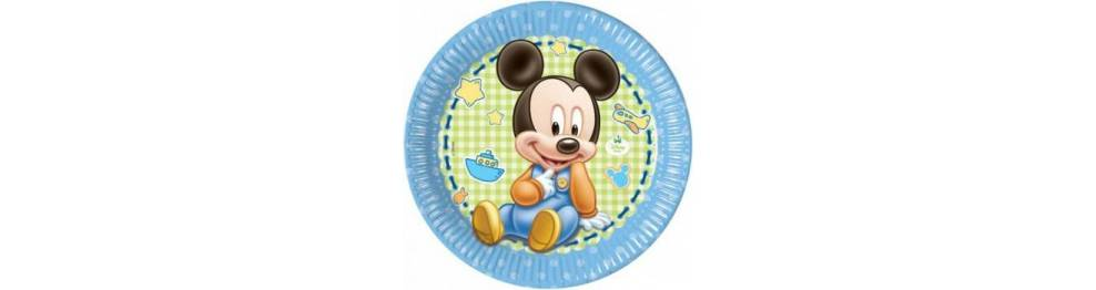 Baby Mickey in Minnie
